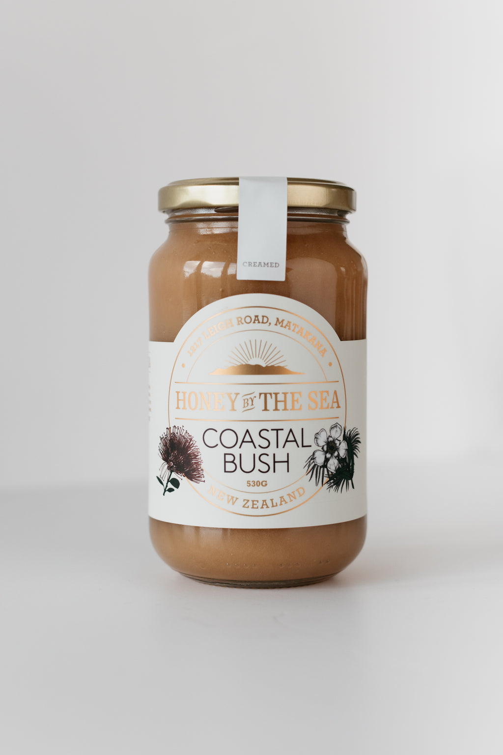 Coastal Bush Honey 530G Creamed