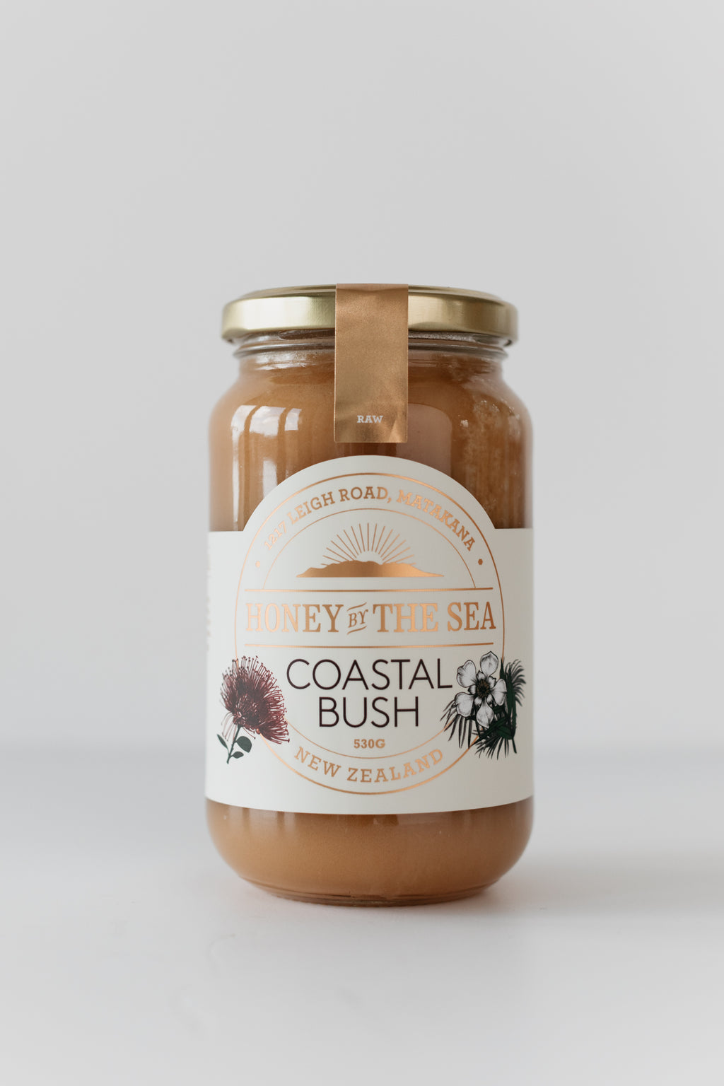 Coastal Bush Honey 530G Raw