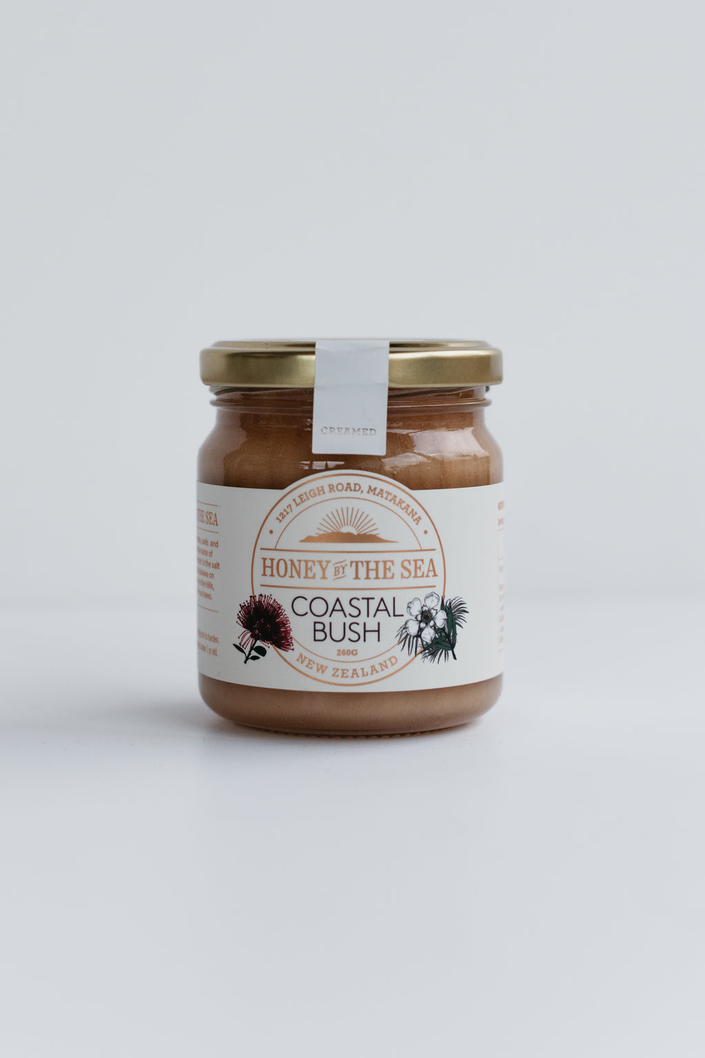 Coastal Bush Honey 260G Creamed