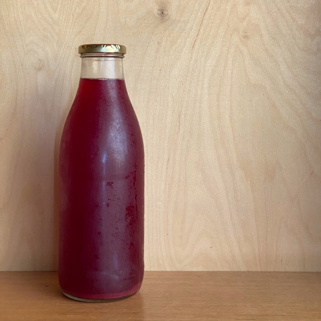 Kombucha  Probiotic Soda - Blueberry