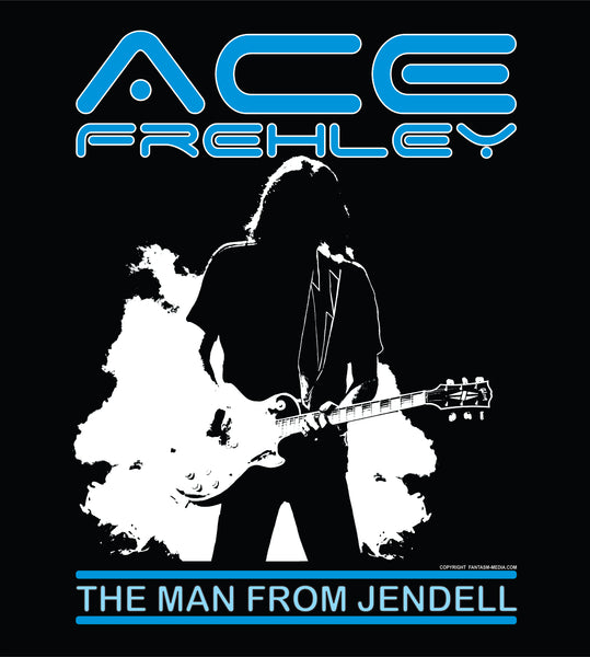Official Ace Frehley t-shirt - The Man From Jendell (XXL, XXXL) - Fantasm Media
