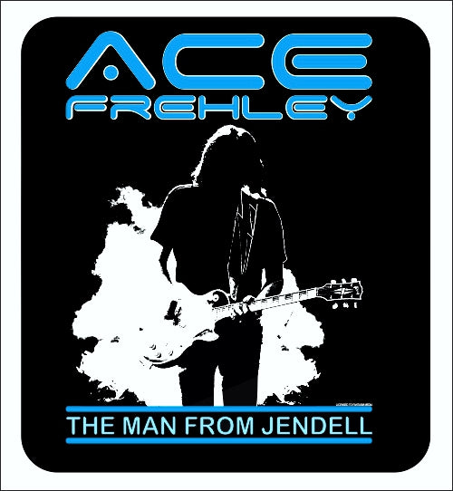 Official Ace Frehley sticker - The Man From Jendell - Fantasm Media