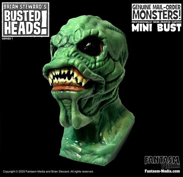 Busted Heads - The Horror From The Ocean Floor Mini Bust - Fantasm Media