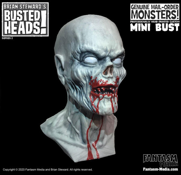 Busted Heads - The Vampire Mini Bust - Fantasm Media