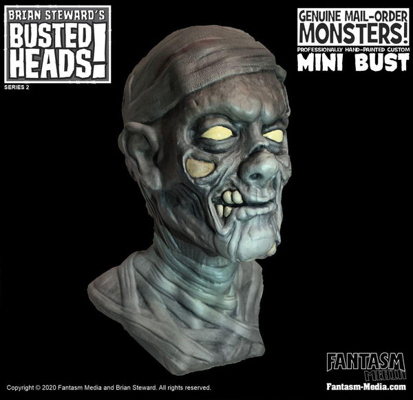 Busted Heads - The Mummy Mini Bust - Fantasm Media