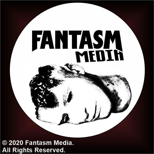 "Fantasm Media Head logo 1.5"" Button - Fantasm Media"