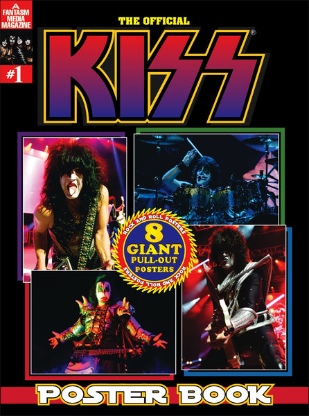 THE OFFICIAL KISS POSTER BOOK - Pre-Order Now!