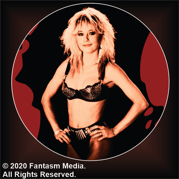 "Linnea Quigley 1.5"" Button - Fantasm Media"