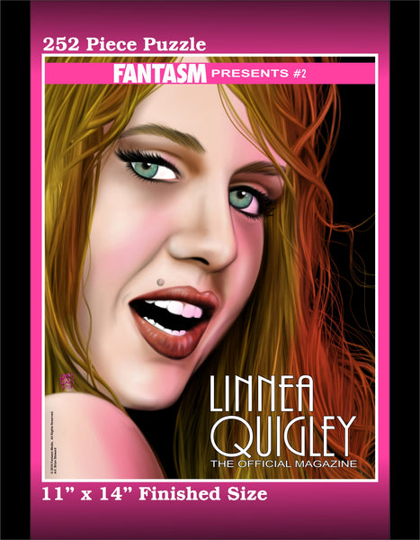 Puzzle - Fantasm Presents #2: Linnea Quigley - Cover Image - Fantasm Media