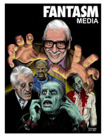 Fantasm Presents #1 George A. Romero Limited Edition Cover Art Print - Fantasm Media