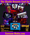Autographed Charlie Benante Trading Card Set (Includes Exclusive Song Download) - Fantasm Media