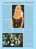 Fantasm Presents #2: Linnea Quigley (Standard Cover) - Fantasm Media