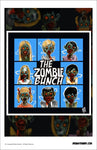 "LIMITED QTY. WAREHOUSE FIND! Brian Steward 11"" x 17"" Poster Print  - The Zombie Bunch - Fantasm Media"