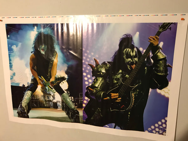 Official KISS Uncut Poster Sheets - Fantasm Media