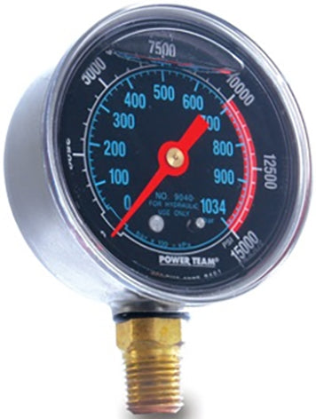 SPX Pressure Gauge With Adapter