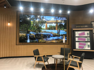 "165"" Video Wall for Menangle Park Display Suite, Macarthur Square"