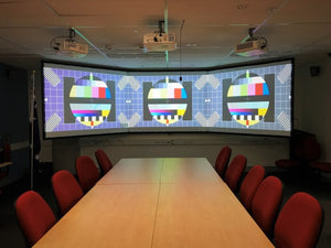 Triple projectors for Defence NSW