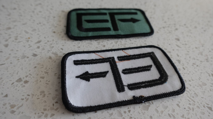 EF Patch two-pack (iron-on)