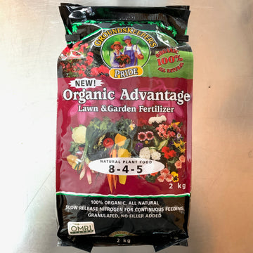 Organic Advantage Lawn and Garden Fertilizer