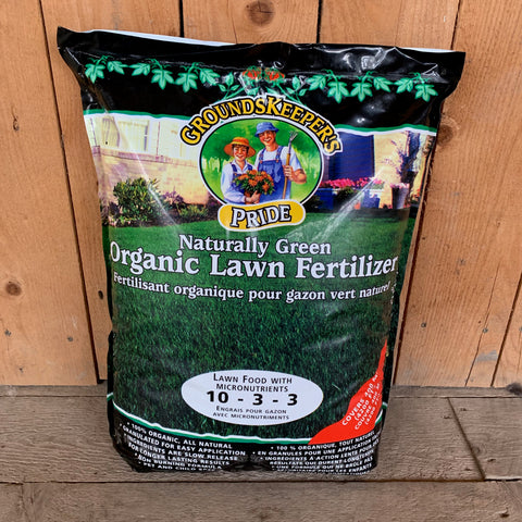 Groundskeepers Pride Organic Lawn Fertilizer