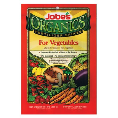Jobes Organic Vegetable Spikes