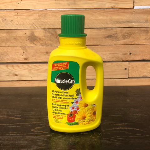Miracle Gro All-Purpose Liquid Concentrate Plant Food