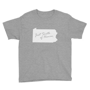 Pennsylvania - Just South of Heaven® Kid's Tee Shirt