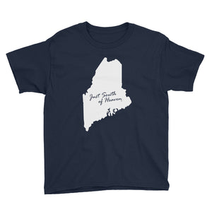 Maine - Just South of Heaven® Kid's Tee Shirt