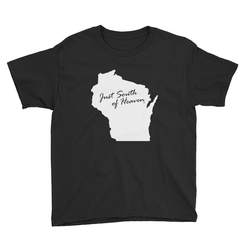 Wisconsin - Just South of Heaven® Kid's Tee Shirt