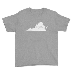Virginia - Just South of Heaven® Kid's Tee Shirt
