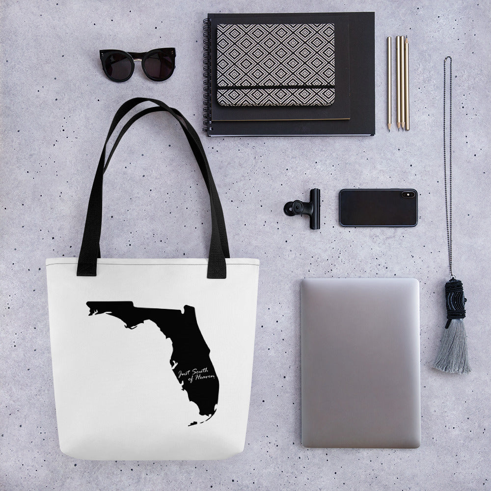 Florida Just South of Heaven® Tote Bag