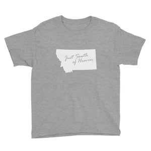 Montana - Just South of Heaven® Kid's Tee Shirt