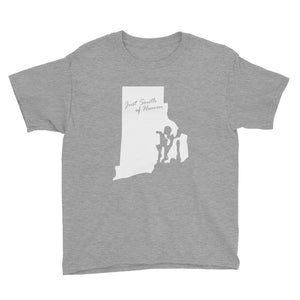 Rhode Island - Just South of Heaven® Kid's Tee Shirt