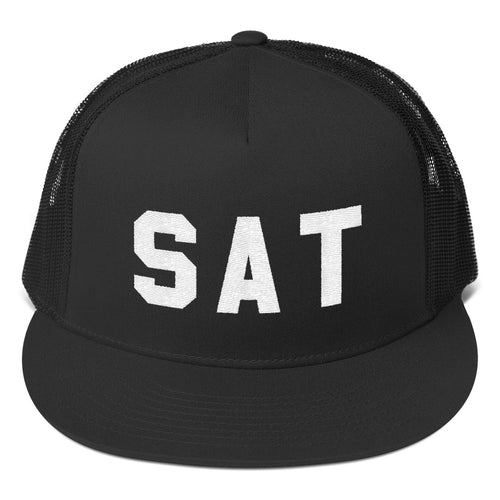 SAT - San Antonio Texas Trucker Hat
