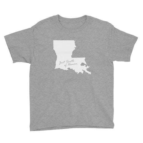 Louisiana - Just South of Heaven® Kid's Tee Shirt