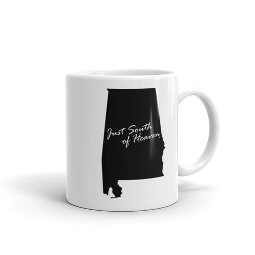Alabama - Just South of Heaven®  Coffee Mug