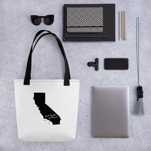 California Just South of Heaven® Tote bag