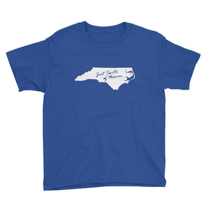 North Carolina - Just South of Heaven® Kid's Tee Shirt