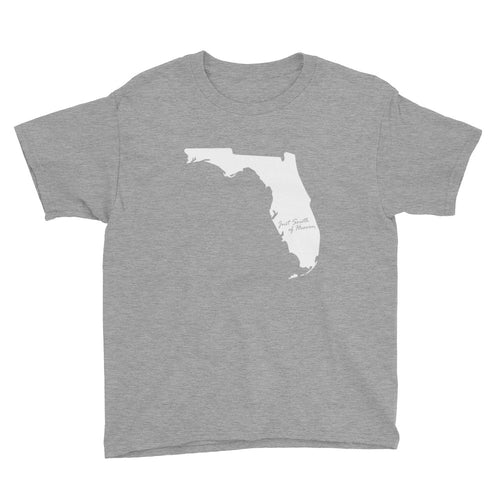 Florida - Just South of Heaven® Kid's Tee Shirt