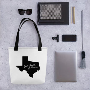 Texas Just South of Heaven® Tote Bag