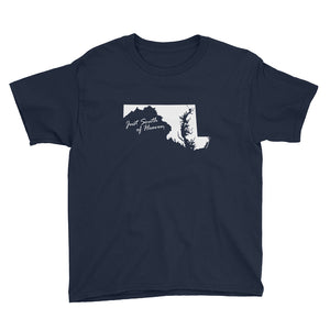 Maryland - Just South of Heaven® Kid's Tee Shirt