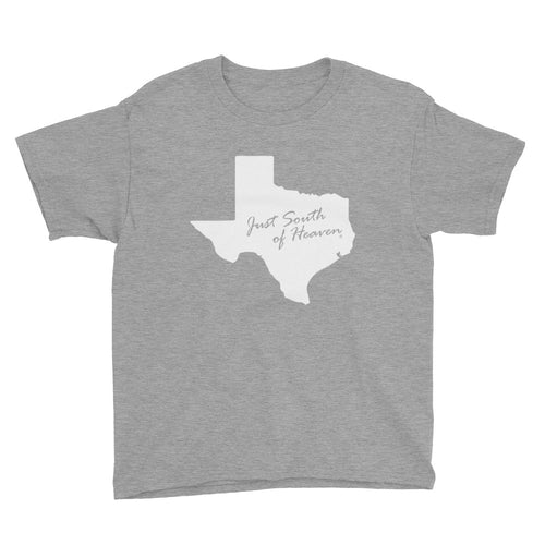 Texas - Just South of Heaven® Kid's Tee Shirt