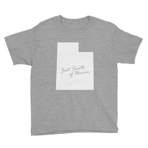 Utah - Just South of Heaven® Kid's Tee Shirt