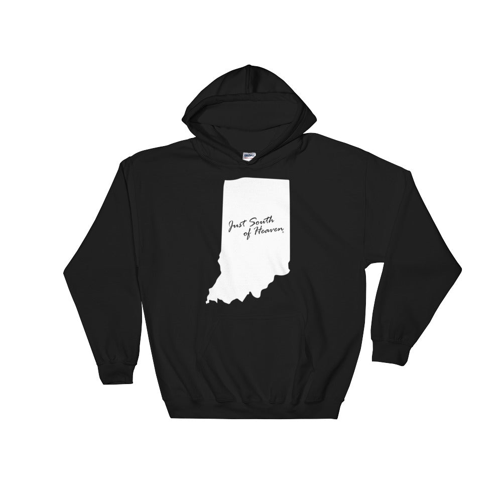 black just south of heaven indiana hoodie
