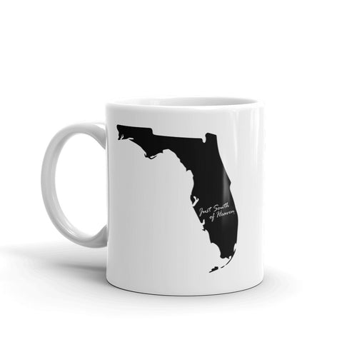Florida Just South of Heaven® Coffee Mug