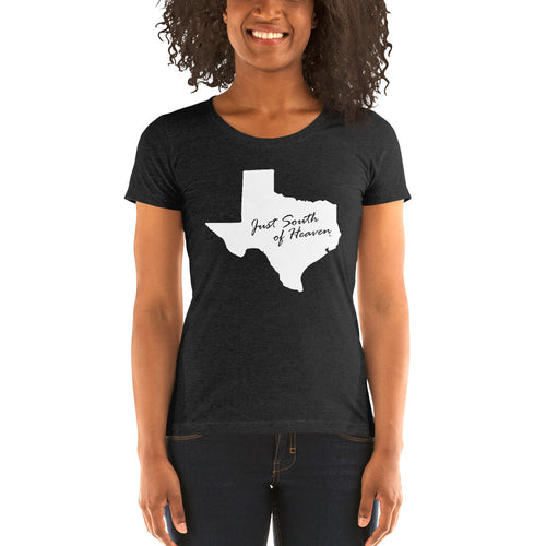 Texas Ladies Cut Just South of Heaven® Tee