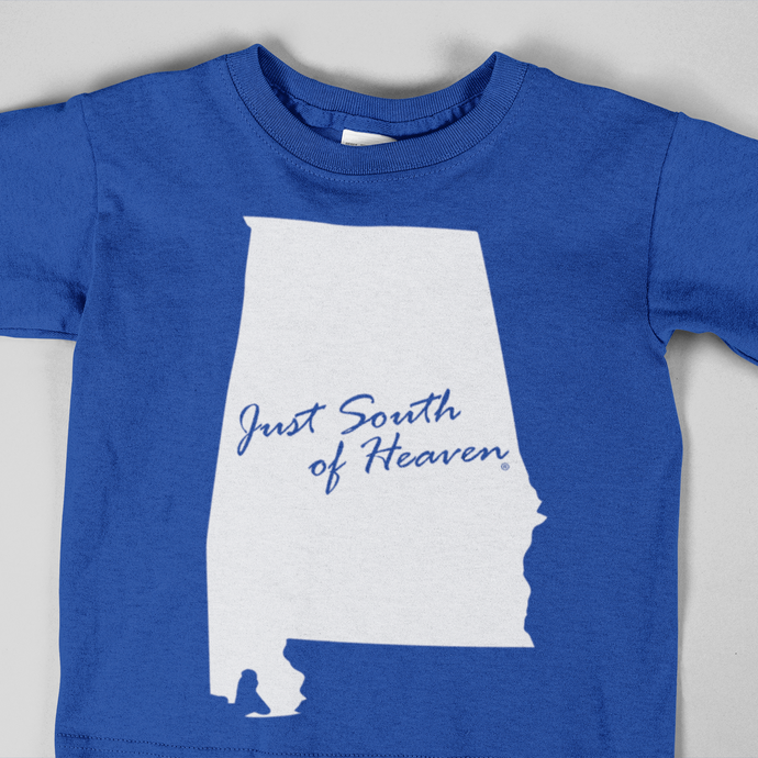 Alabama - Just South of Heaven®  Kid's Tee