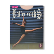 Ballet Rocks Adult Mesh Seamed Pink Convertible Tights