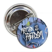 BALLET ROCKS Motion is Freedom Button SKU 201