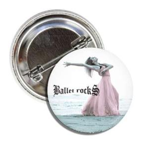 BALLET ROCKS Beach Dancer Button SKU 200